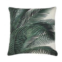 &fab botanisch kussen palm leaves