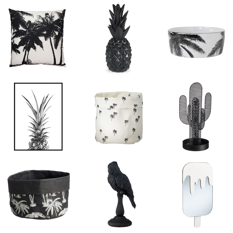 &fab blog Ticket to the tropics monochroom