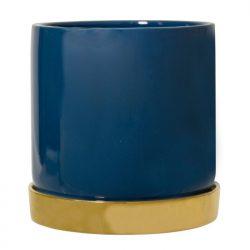 Bloempot Bloomingville blauw