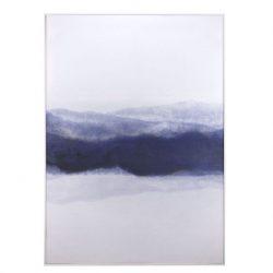 Schilderij Wolk blauw