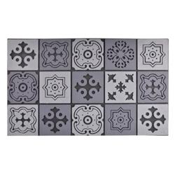 &fab interierhulp interieurkleur licht grijs deurmat mozaiek