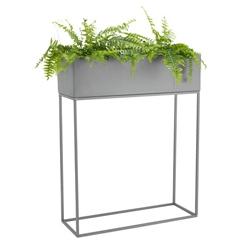 &fab interierhulp interieurkleur licht grijs plantenbak staand