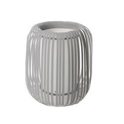 &fab interierhulp interieurkleur licht grijs tafellamp polly grijs