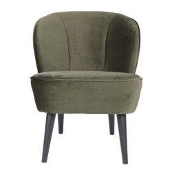 Woood fauteuil groen