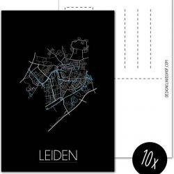 Designclaud ansichtkaart stadskaart
