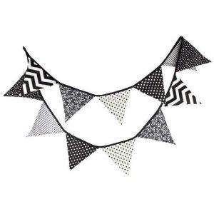 vlaggenlijn aliexpress zwartwit