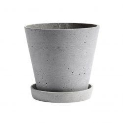 raw chic bloempot beton