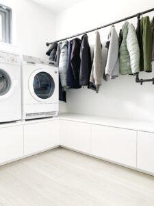 Wasmachine-drogerkast van Ikea Metod keukenkasten