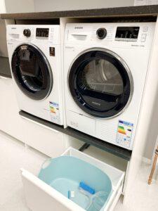 Wasmachinekast met ombouw