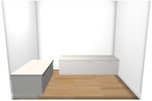 Keukenontwerp in Ikea keukenplanner
