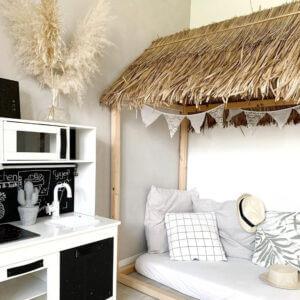 speelhuisje bedhuisje bamboeblad