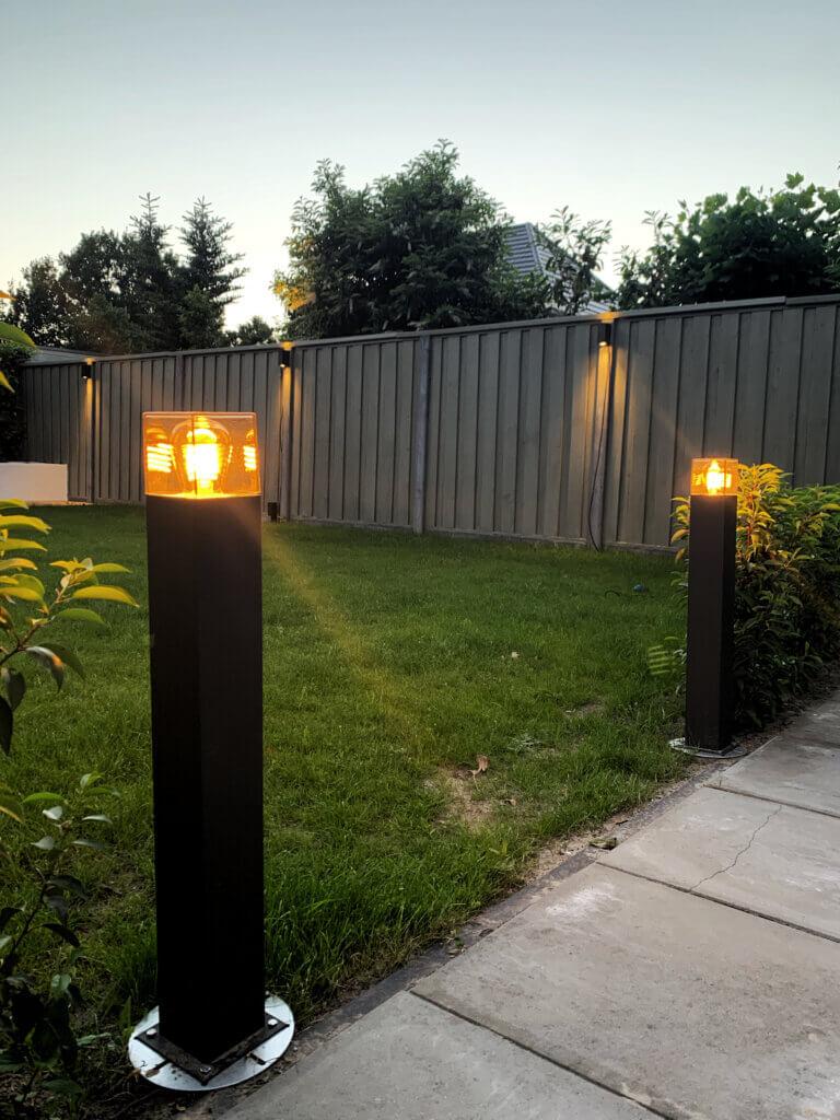 tuinpilaar buitenverlichting